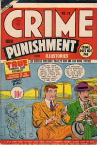 Cover Thumbnail for Crime and Punishment (Superior Publishers Limited, 1948 ? series) #13