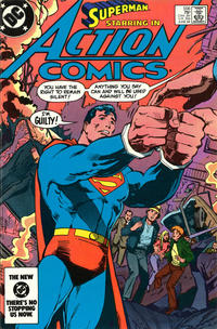 Cover Thumbnail for Action Comics (DC, 1938 series) #556 [direct-sales]