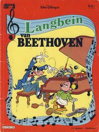 Cover Thumbnail for Langbein album (Hjemmet / Egmont, 1977 series) #5 - Langbein van Beethoven