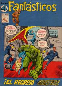 Cover Thumbnail for Los 4 Fantásticos (Editora de Periódicos La Prensa S.C.L., 1962 series) #152