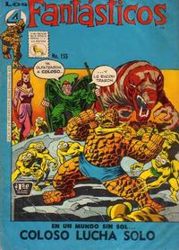 Cover Thumbnail for Los 4 Fantásticos (Editora de Periódicos La Prensa S.C.L., 1962 series) #155