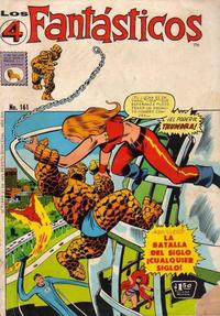 Cover Thumbnail for Los 4 Fantásticos (Editora de Periódicos La Prensa S.C.L., 1962 series) #161