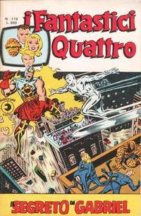 Cover Thumbnail for I Fantastici Quattro (Editoriale Corno, 1971 series) #119