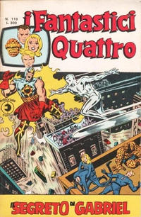 Cover Thumbnail for I Fantastici Quattro (Editoriale Corno, 1971 series) #119