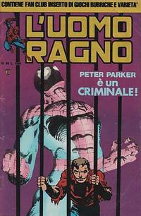 Cover Thumbnail for L'Uomo Ragno (Editoriale Corno, 1982 series) #58