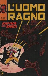 Cover Thumbnail for L' Uomo Ragno [Collana Super-Eroi] (Editoriale Corno, 1970 series) #283