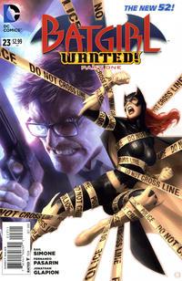 Cover Thumbnail for Batgirl (DC, 2011 series) #23