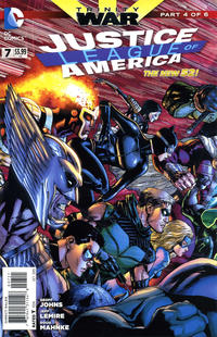 Cover Thumbnail for Justice League of America (DC, 2013 series) #7 [Direct Sales]
