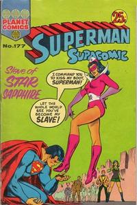 Cover Thumbnail for Superman Supacomic (K. G. Murray, 1959 series) #177