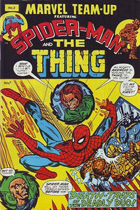 Cover Thumbnail for Marvel Team-Up (Yaffa / Page, 1973 ? series) #2