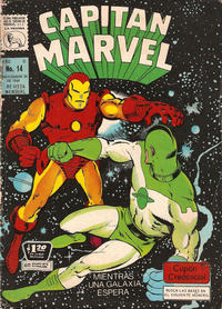 Cover Thumbnail for Capitán Marvel (Editora de Periódicos La Prensa S.C.L., 1968 series) #14