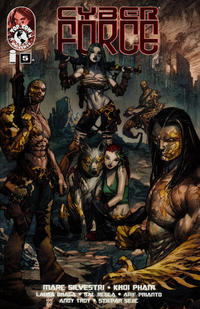 Cover Thumbnail for Cyber Force (Image, 2012 series) #5 [Cover A]