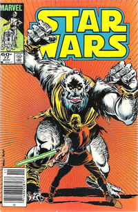 Cover Thumbnail for Star Wars (Marvel, 1977 series) #77 [Newsstand]