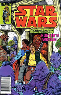 Cover Thumbnail for Star Wars (Marvel, 1977 series) #85 [Newsstand]