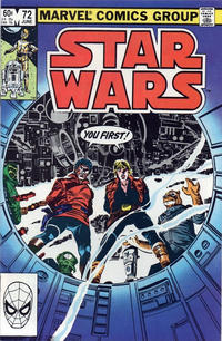 Cover Thumbnail for Star Wars (Marvel, 1977 series) #72 [Direct Edition]