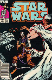Cover Thumbnail for Star Wars (Marvel, 1977 series) #78 [Newsstand]