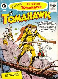 Cover Thumbnail for Tomahawk (Thorpe & Porter, 1954 series) #21