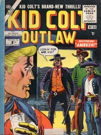 Cover Thumbnail for Kid Colt Outlaw (Thorpe & Porter, 1950 ? series) #20