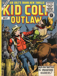 Cover Thumbnail for Kid Colt Outlaw (Thorpe & Porter, 1950 ? series) #27