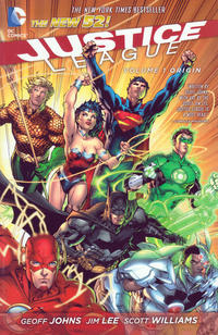 Cover Thumbnail for Justice League (DC, 2013 series) #1 - Origin