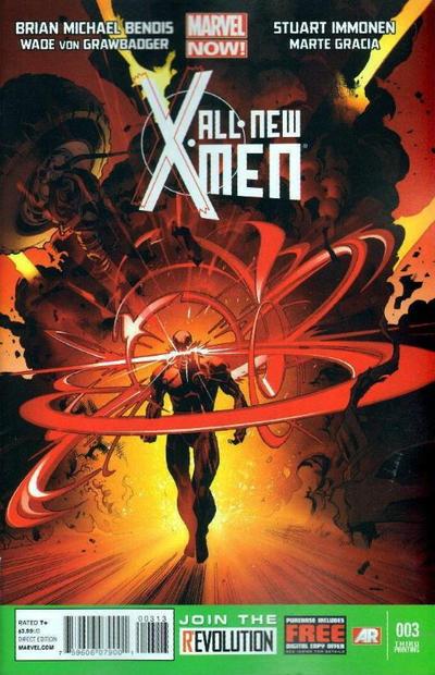 Cover for All-New X-Men (Marvel, 2013 series) #3