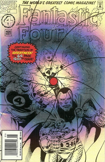 Cover for Fantastic Four (Marvel, 1961 series) #400 [Direct Edition]