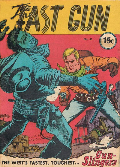 Cover for The Fast Gun (Yaffa / Page, 1967 ? series) #45