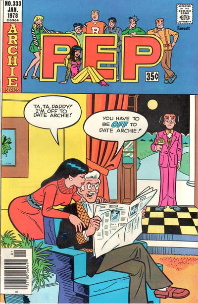 Cover for Pep (Archie, 1960 series) #333
