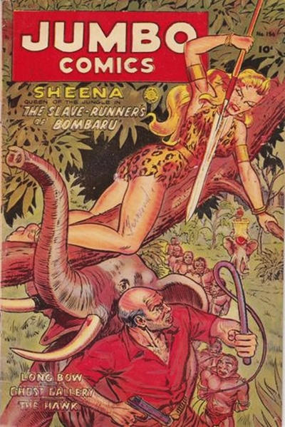 Cover for Jumbo Comics (Superior, 1951 series) #156