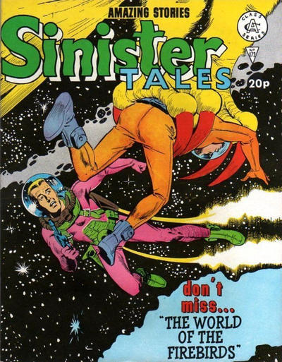Cover for Sinister Tales (Alan Class, 1964 series) #172