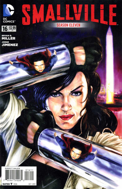 Cover for Smallville Season 11 (DC, 2012 series) #16
