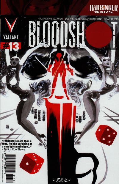 Cover for Bloodshot (Valiant Entertainment, 2012 series) #13 [Cover A - Dave Bullock]