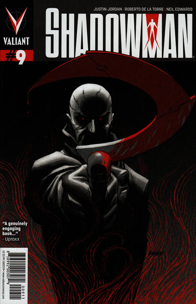 Cover for Shadowman (Valiant Entertainment, 2012 series) #9 [Cover B - Andrew Robinson]