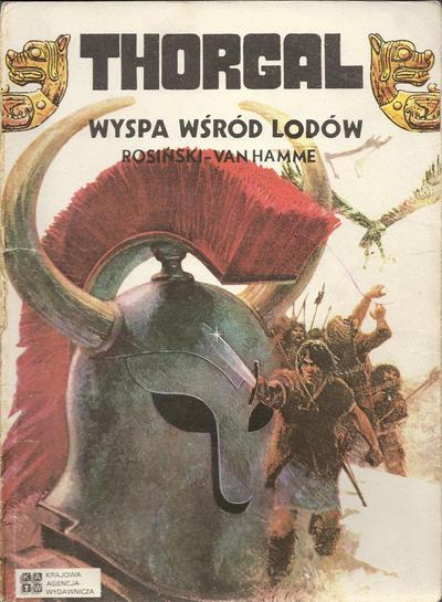 Cover for Thorgal (Krajowa Agencja Wydawnicza, 1988 series) #2 - Wyspa wśród lodów