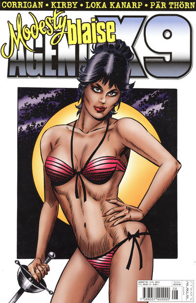 Cover for Agent X9 (Egmont, 1997 series) #8/2013