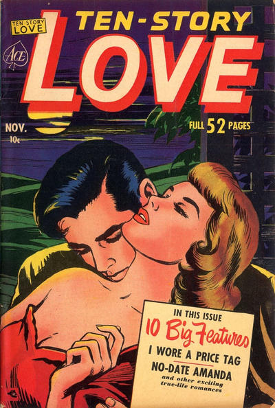 Cover for Ten-Story Love (Ace Magazines, 1951 series) #v29#5 [179]