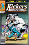 Cover for Kickers, Inc. (Marvel, 1986 series) #7 [Newsstand]