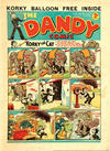 Cover for The Dandy Comic (D.C. Thomson, 1937 series) #78