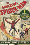 Cover for The Amazing Spider-Man (Marvel, 1963 series) #1 [British Price Variant]