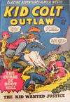 Cover for Kid Colt Outlaw (Horwitz, 1952 ? series) #21