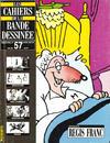 Cover for Les Cahiers de la Bande Dessinée (Glénat, 1984 series) #57