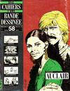 Cover for Les Cahiers de la Bande Dessinée (Glénat, 1984 series) #58