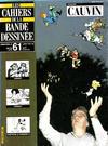 Cover for Les Cahiers de la Bande Dessinée (Glénat, 1984 series) #61