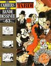 Cover for Les Cahiers de la Bande Dessinée (Glénat, 1984 series) #63