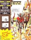 Cover for Les Cahiers de la Bande Dessinée (Glénat, 1984 series) #64
