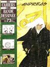 Cover for Les Cahiers de la Bande Dessinée (Glénat, 1984 series) #73