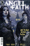 Cover for Angel & Faith (Dark Horse, 2011 series) #25 [Steve Morris Cover]