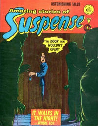 Cover Thumbnail for Amazing Stories of Suspense (Alan Class, 1963 series) #156