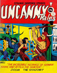 Cover Thumbnail for Uncanny Tales (Alan Class, 1963 series) #152