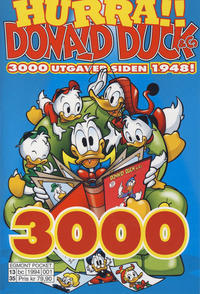 Cover Thumbnail for Disney Jubileumspocket (Hjemmet / Egmont, 2013 series) #1 - Donald Duck & Co 3000